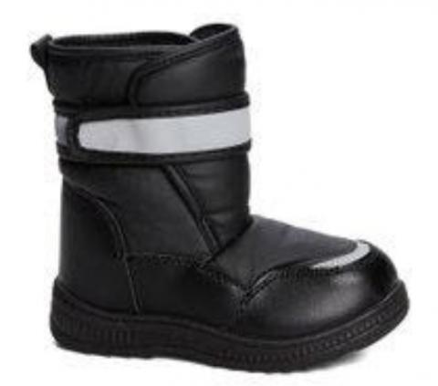 Coco Jumbo Grafitti Patent Jane Boots Little Girls Size 11-4Y