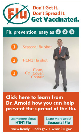 Don't Get the Flu. Don't Spread the Flu. Get Vaccinated.