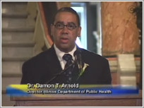 Video: Doctor Arnold at Black History Month Event