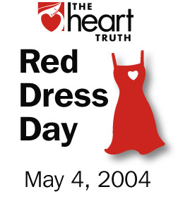 Red Dress Day - May 4- 2004