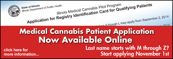 Medical Cannabis Patient Application Now Available Online