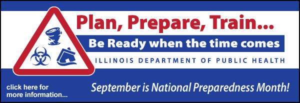 September is National Preparedness Month!